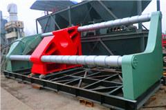 内蒙630吨轴类专用液压机客户现场