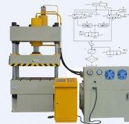 200吨四柱液压机液压系统原理图解说